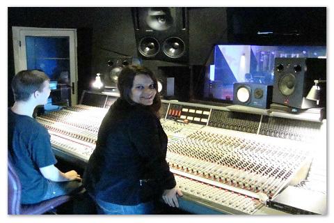 Recording at Windmill Lane Studios in Dublin